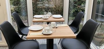 Breakfast in the terrace area