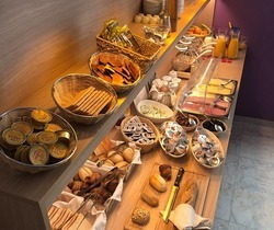 Hotel Montovani - Breakfast buffet