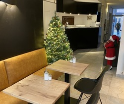 Reception in Christmas holidays